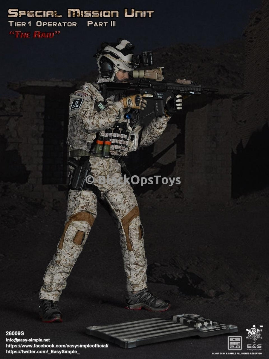 "Rare Navy Seal Devgru SMU Tier 1 Operator Pt3 ""The Raid""  Exclusive Version Mint in Box"
