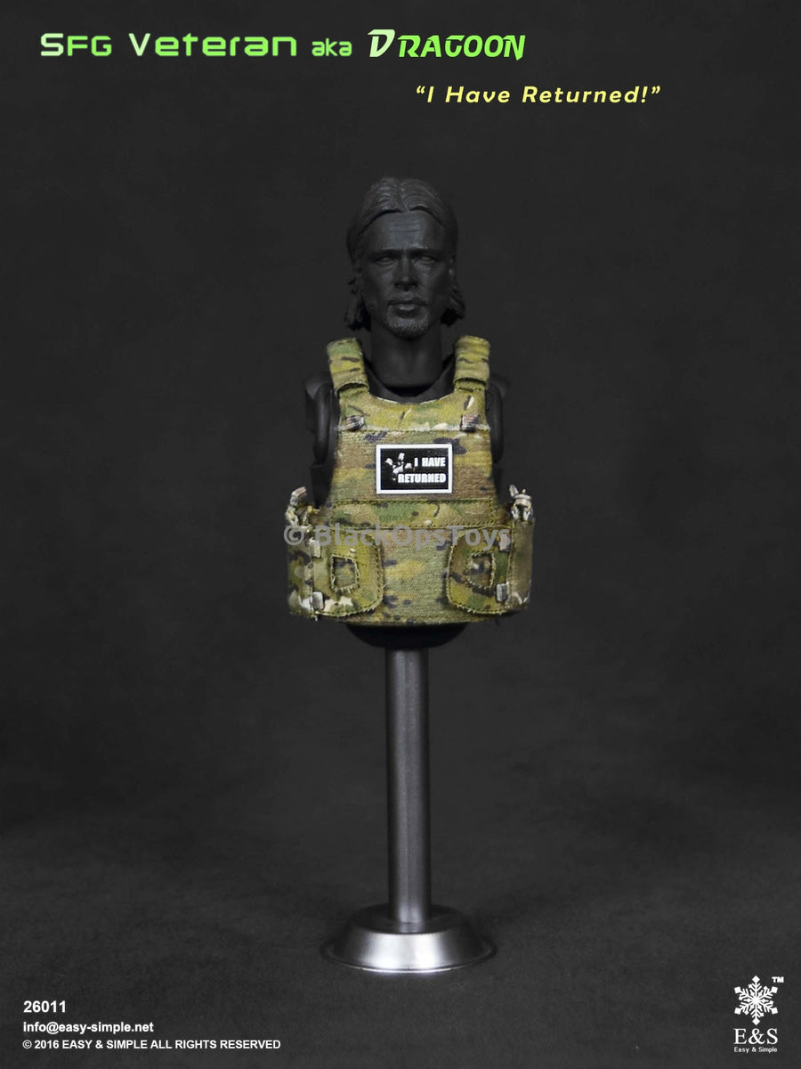 "Army SFG Special Forces Group Veteran ""Dragoon"" - Mint in Box"