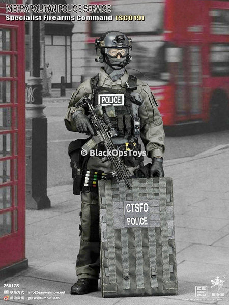 British Metropolitan Police Service Firearms Command Specialist SCO19 Shieldman Mint In Box