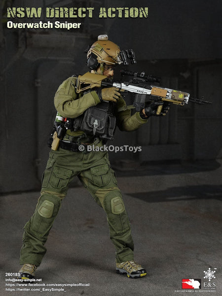 Easy & Simple x Blackopstoys Exclusive: NSW Direct Action Overwatch Sniper Mint in Box