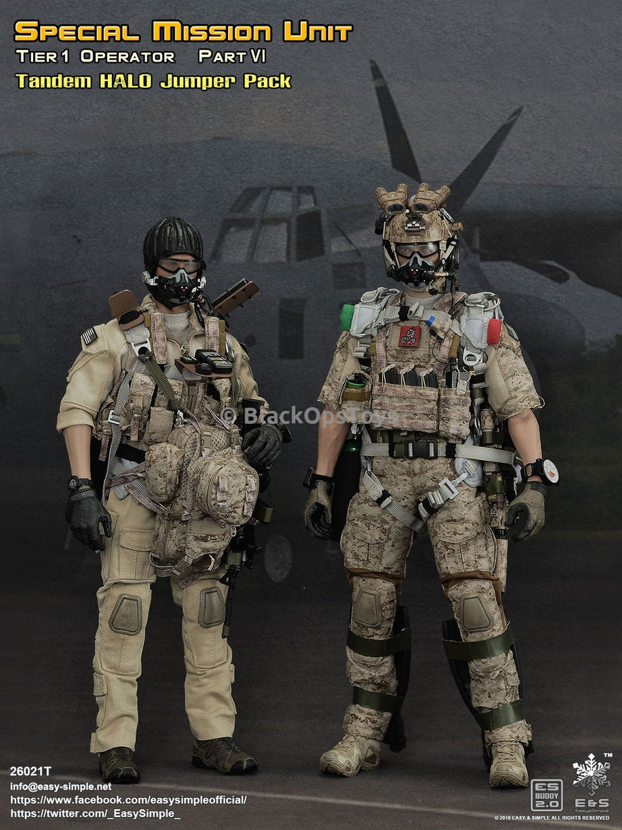 Action Body for ES 26021T Special Mission Unit Tandem HALO Jumper 1//6 Scale