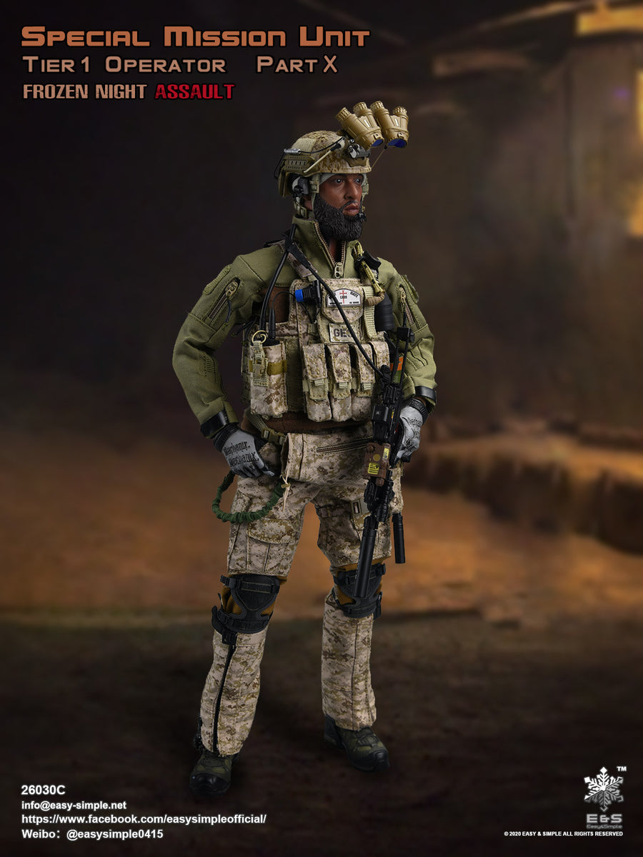 SMU Frozen Night Assault - Gear Set