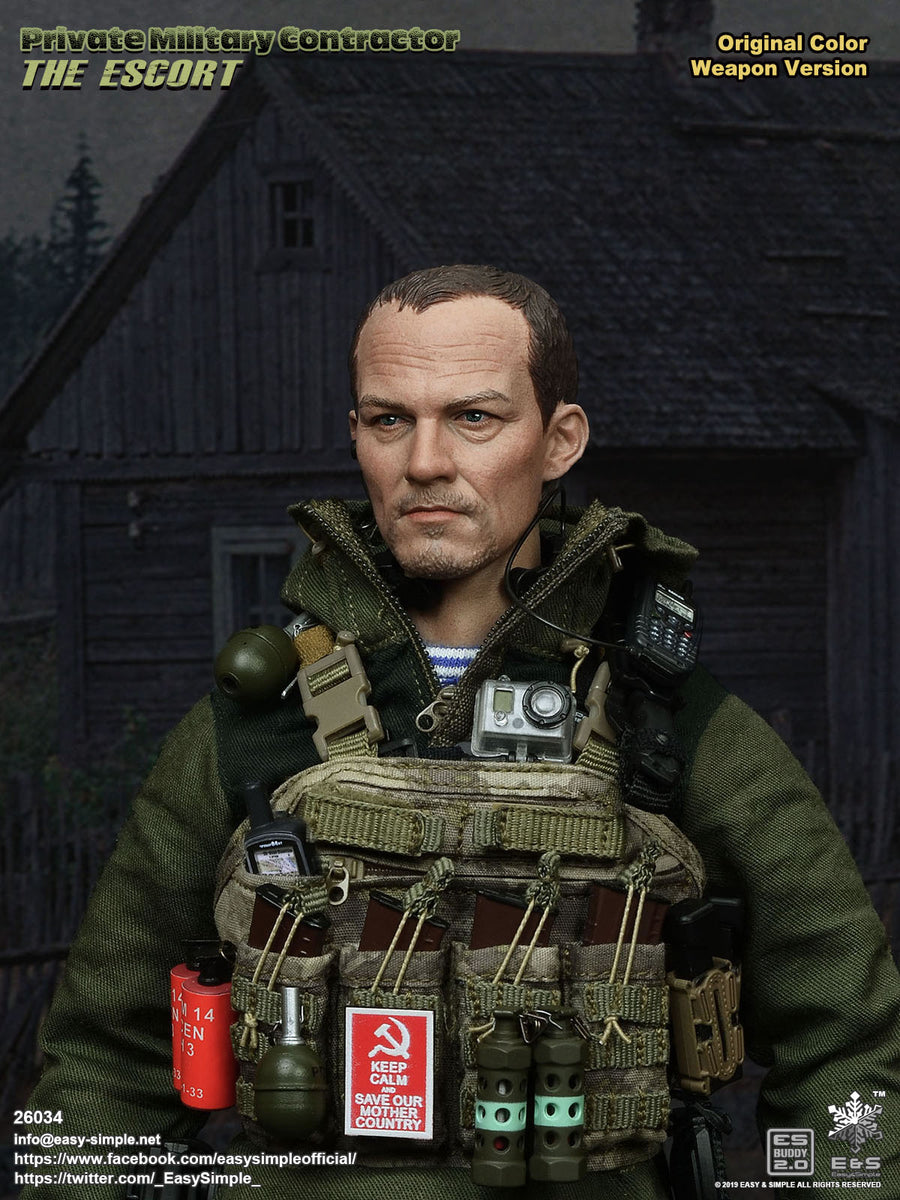 PMC - The Escort - OD Green Jacket w/Face Cover