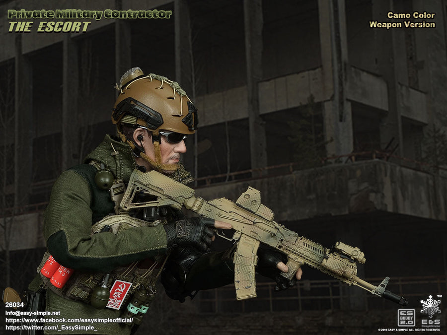 PMC - The Escort - Brown Magazine Set w/Snakeskin Camo Coupler