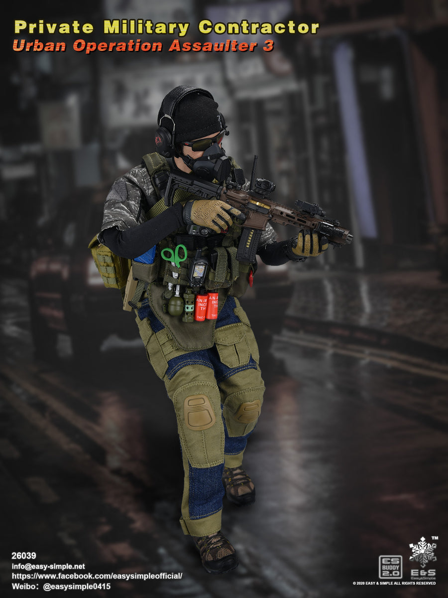 Urban Operation PMC - Relaxed Hand Set