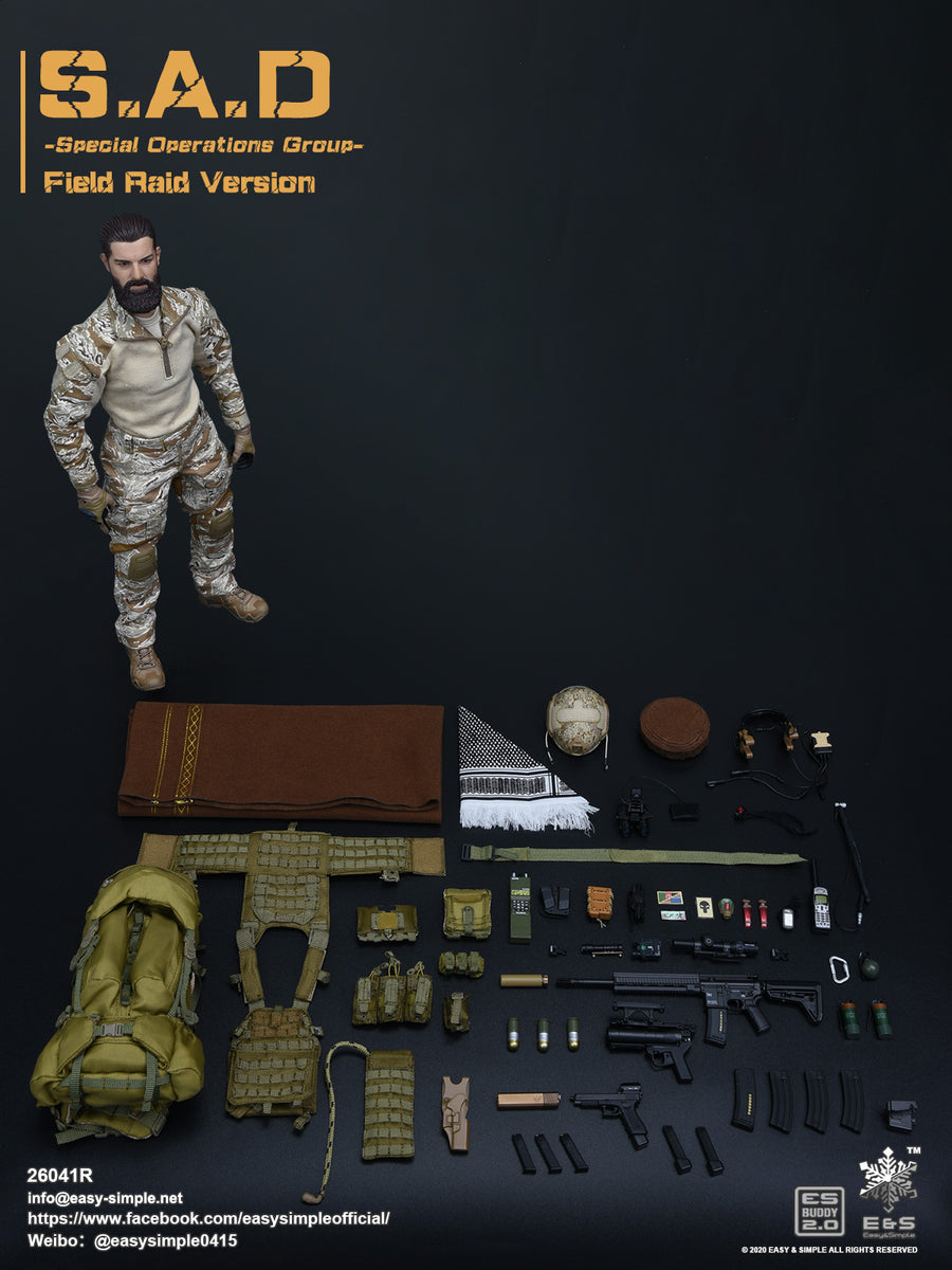 PREORDER - S.A.D. SOG - Field Raid Version - MINT IN BOX
