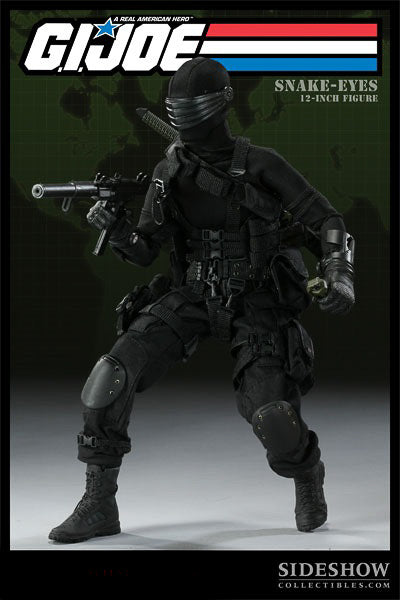 GI JOE - Snake Eyes - Black Combat Pants
