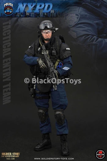 10th Anniversary NYPD ESU Emergency Service Unit Tactical Entry Team Mint in Box