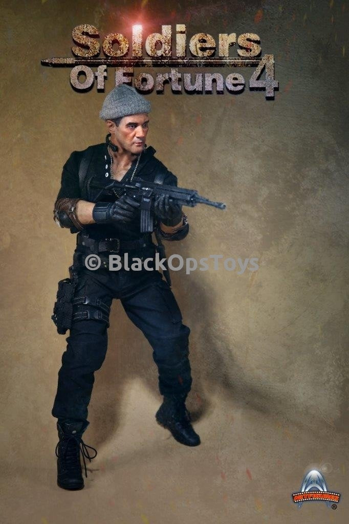 Soldiers of Fortune 4 Galgo from The Expendables 3 Antonio Banderas Mint in Box