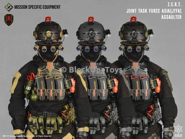 ZERT Joint Task Force Asia 3 Pack Alpha, Bravo, Exclusive Charlie Combo Mint in Box