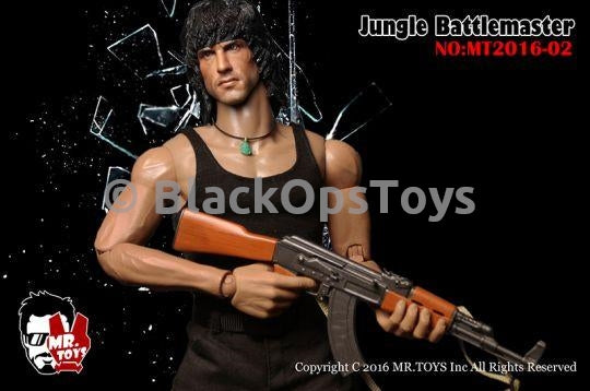 Jungle Battlemaster RAMBO Black Tank Top