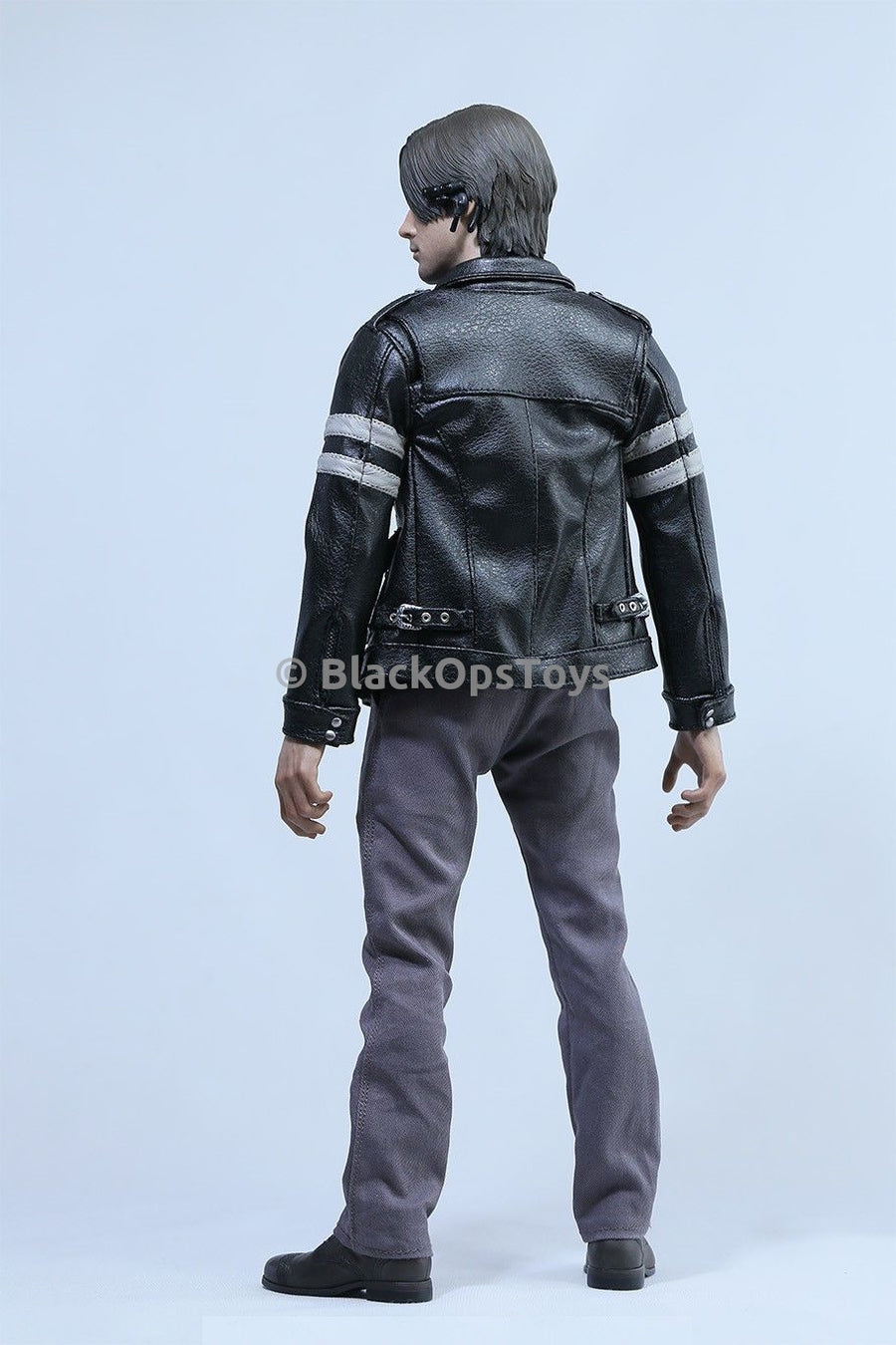 1/6 Scale Leon Kennedy Resident Evil Grey Dress Pants