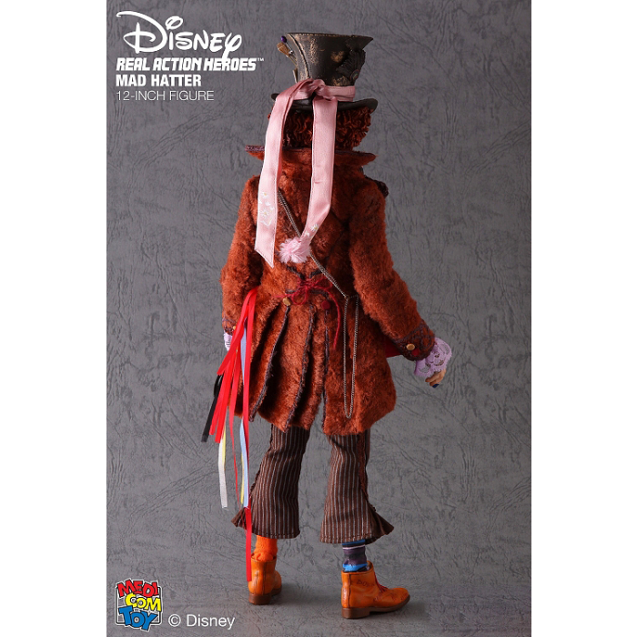 Mad Hatter - Brown Boots (Foot Type)
