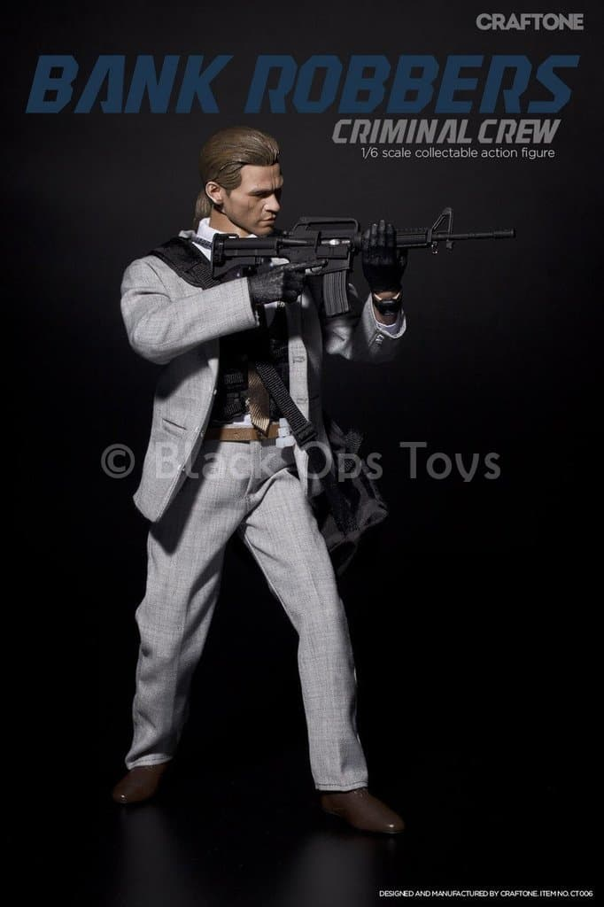 Bank Robbers Crew - Male Base Body w/Val Kilmer Head Sculpt