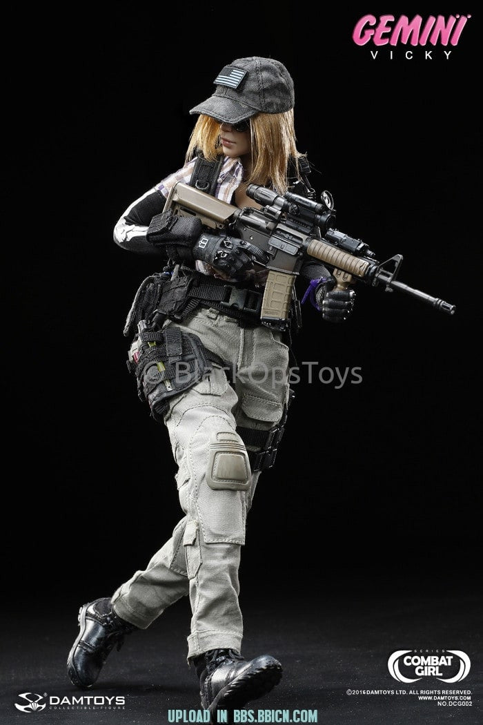 Combat Girl Series Female PMC GEMINI - VICKY Light Olive Combat Pants