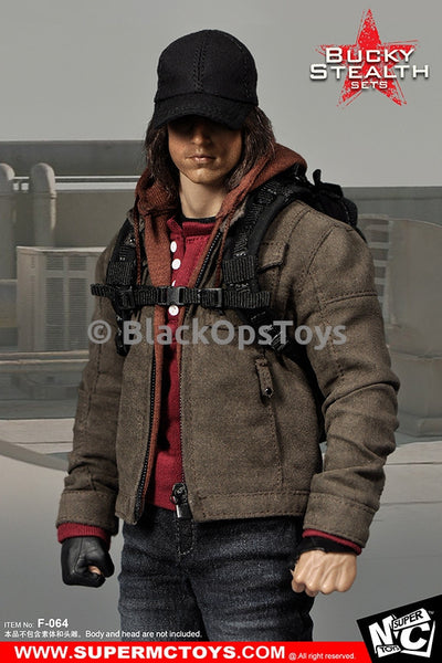 PREORDER Bucky Winter Soldier Stealth Set Jacket & Pants Avengers