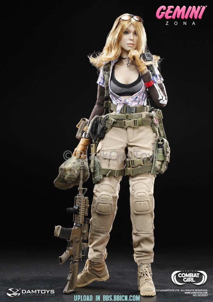 Combat Series Female PMC GEMINI - ZONA M4 Rifle Set