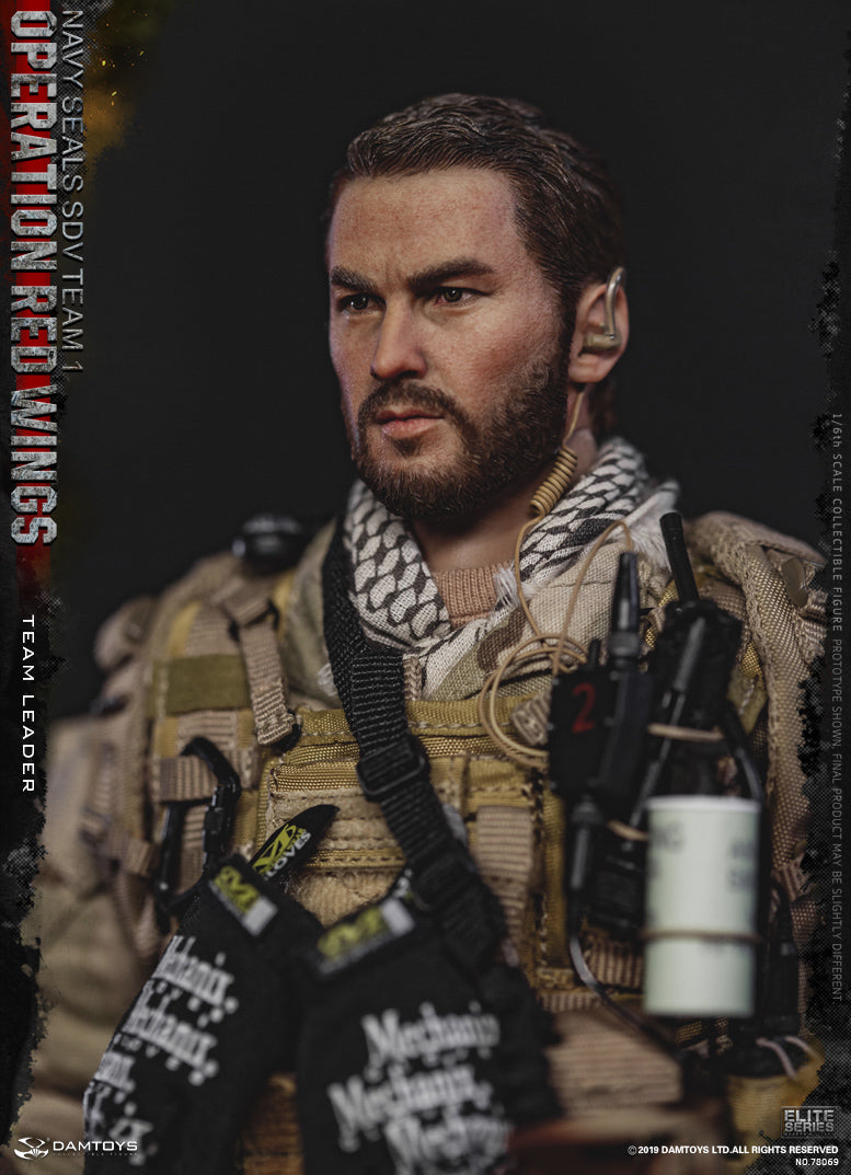 Operation Red Wings - Black Radio w/MOLLE Pouch