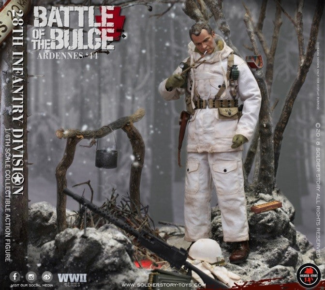 WWII - Battle of the Bulge - U.S. Army 28th Infantry Division - MINT IN BOX