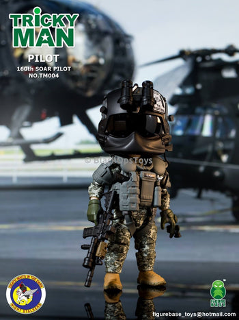 "160th SOAR ""Night Stalkers"" Pilot Mint in Box"