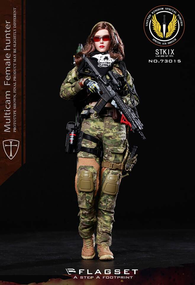 Female Special Forces - Female Base Body