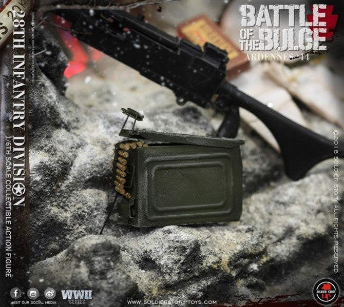 Army 28th Infantry Division Ardennes In-Stock 1//6 Scale SoldierStory SS111 U.S