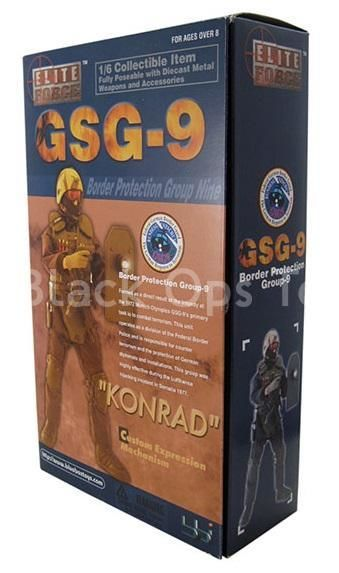 GSG9 Border Protection - Konrad - Black Knee Pads