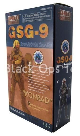 GSG9 Border Protection - Konrad - Ballistic Goggles w/Yellow Lens