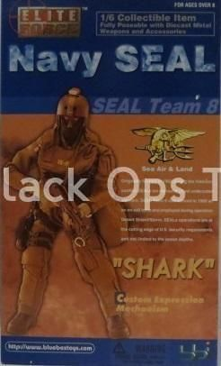 "Navy Seal ""Shark"" - Male Base Body w/Headsculpt"