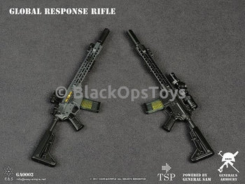 TWIN PACK GREY & BLACK Global Response Rifles A&B Mint in Box