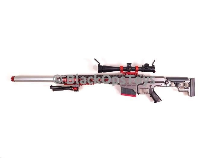 "BlackOpsToys EXCLUSIVE Wolf Grey ZERT Z Squadron Urban Sniper ""Black Jack"" The Division Dark Zone Mint in Box"