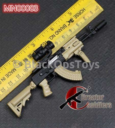 1/6 Scale Russian Tan Metal Foregrip
