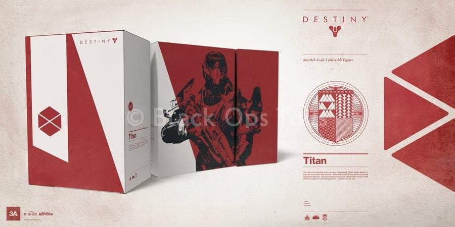 Destiny - Titan - Bungie Store Edition - MINT IN BOX