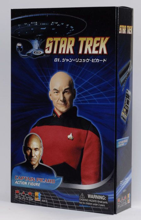 Star Trek - Jean-Luc Picard - Male Base Body w/Head Sculpt