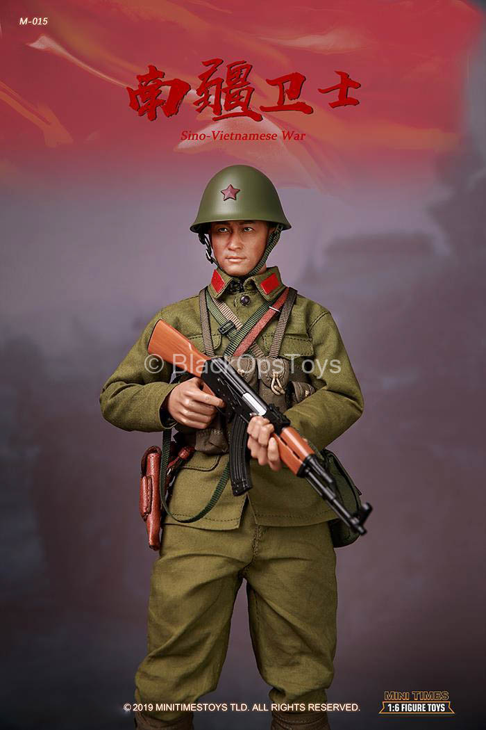 Sino-Vietnamese War - Brown Leather-Like Belt Type 1