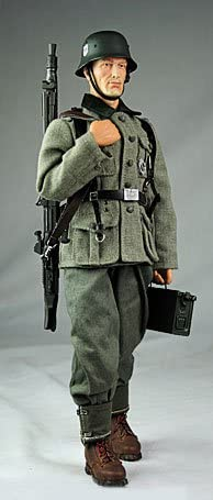 WWII German - Georg Sander - Grey Army Combat Uniform