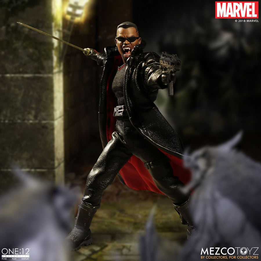 1/12 - Marvels - Blade - Head Sculpt (Expression Type)