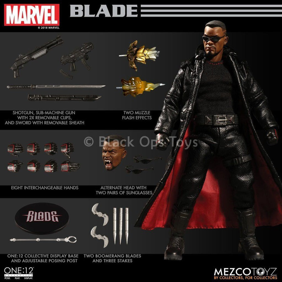 Marvel Comics -  1/12 Scale Blade - MINT IN BOX
