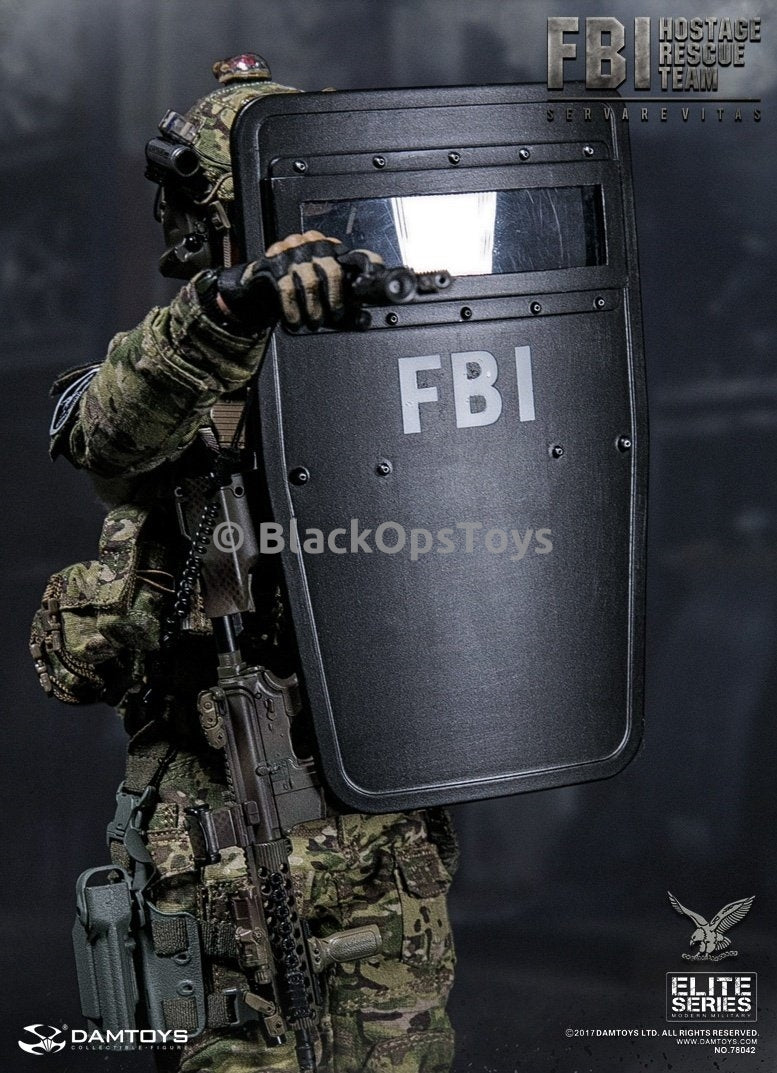 Dam Toys FBI HRT Agent Hostage Rescue Team Servarevitas FBI Defender Shield