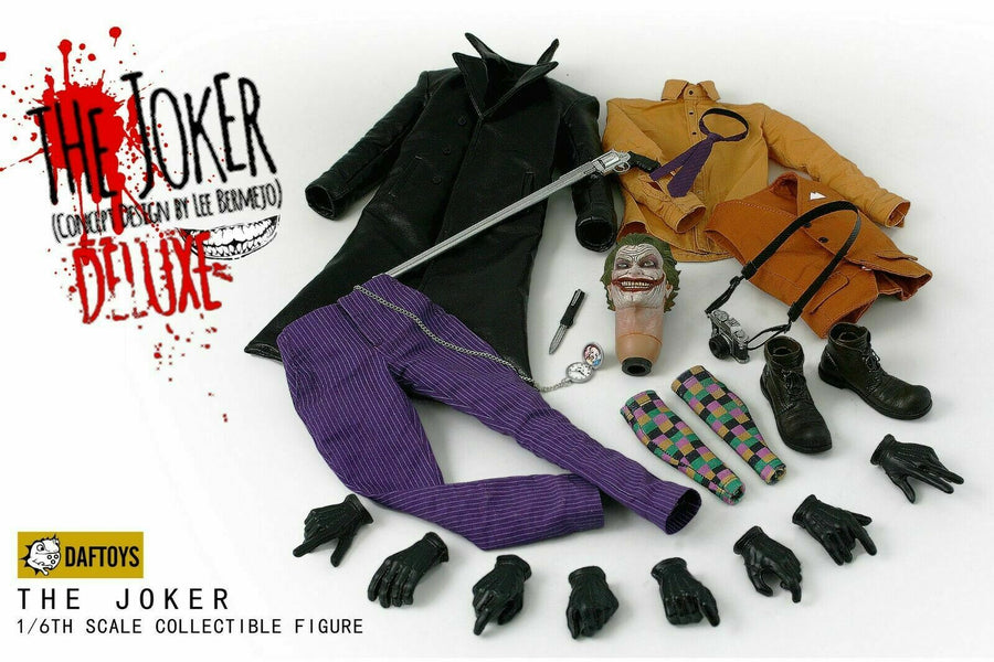 The Joker Cursed Clown - Checked Socks
