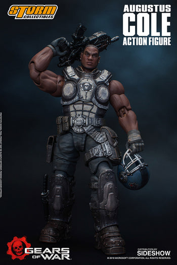 1/12 - Gears of War - Augustus Cole - MINT IN BOX