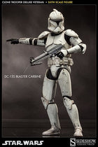 Star Wars - Clone Trooper Veteran -  Weathered DC-15A Blaster Rifle