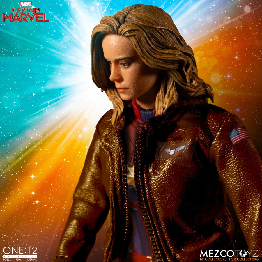 1/12 - Captain Marvel - Female Masked Head Sculpt Type 1