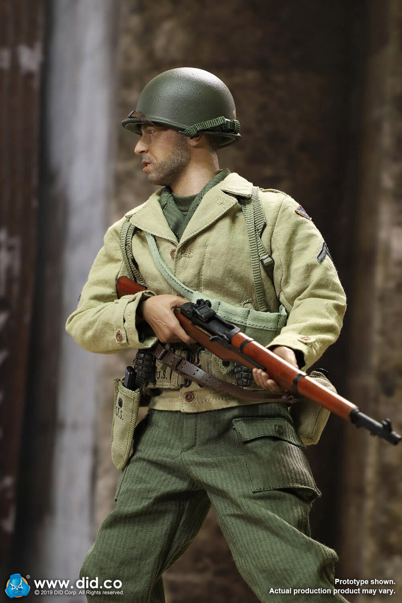 WWII - 2nd Ranger Battalion - Male Base Body w/Head Sculpt