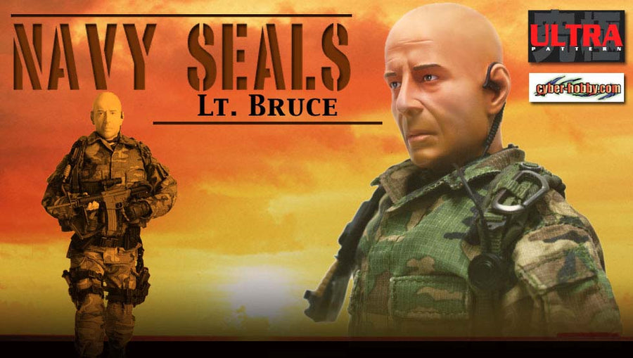Ultra Rare NAVY SEAL COMBAT TEAM LT. Waters & Red from Tears of the Sun Mint in Box