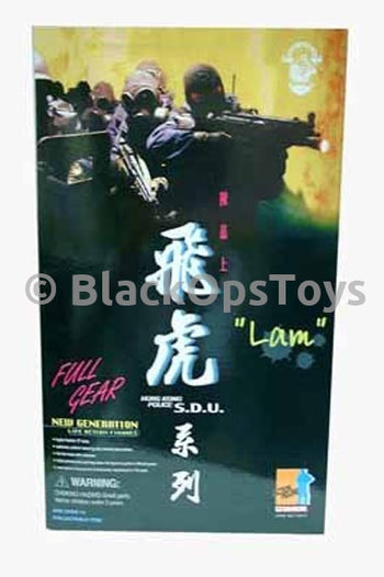 "Dragon Hong Kong Police S.D.U. ""Lam"" Mint in Box"
