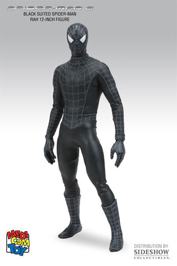 Spider-Man 3 Black Suited Spider Man - MINT IN BOX