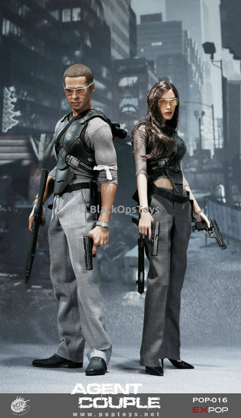 Mr. & Mrs. Smith Battle Version 2-pack MINT IN BOX