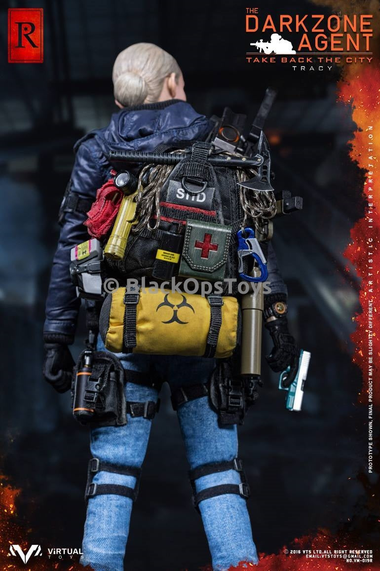 "VTS Darkzone Agent Tracy ""R"" Blue Coat Version SHD Patch"