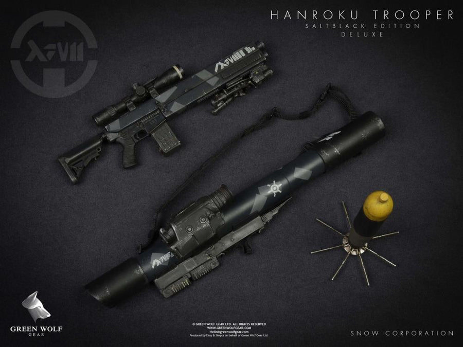 13 Project Hanroku Trooper Salt Black Edition Rocket Launcher & RPG